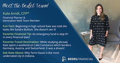 Kate Arndt, CFP® | Meet the Bedel Team