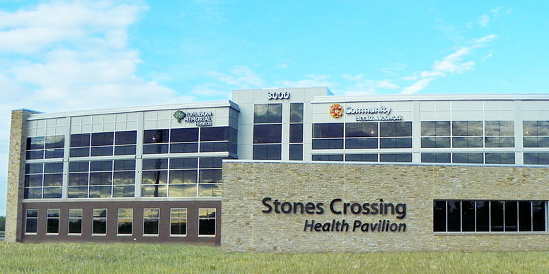 Stones Crossing Health Pavilion Johnson Memorial Health Franklin Indiana