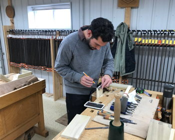 Take a Learning Vacation at World-renowned Woodworking School Just South of Indy