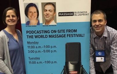 Image for E221: What's Your Best Advice for New Massage & Bodywork Graduates? (On Location at World Massage Festival)