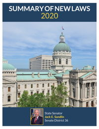 2020 Summary of New Laws - Sen. Sandlin