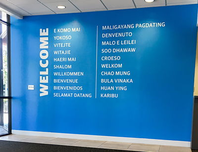 Welcome Vinyl Wall Graphics
