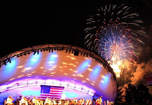 Music and fireworks coming July 1