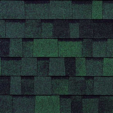 STANDARD DURATION SHINGLES-CHATEAU GREEN