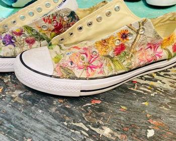 Decorating Canvas Shoes Workshop