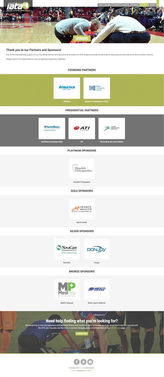 IATA Sponsors
