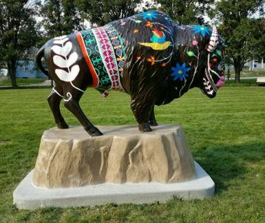 Picture for Bison-Tennial Project Enriches Public Art