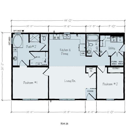Floorplan of Jefferson