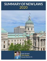 2020 Summary of New Laws - Sen. Garten