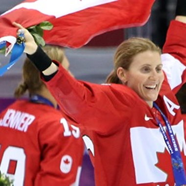 Image for Wickenheiser named to Hockey Hall of Fame