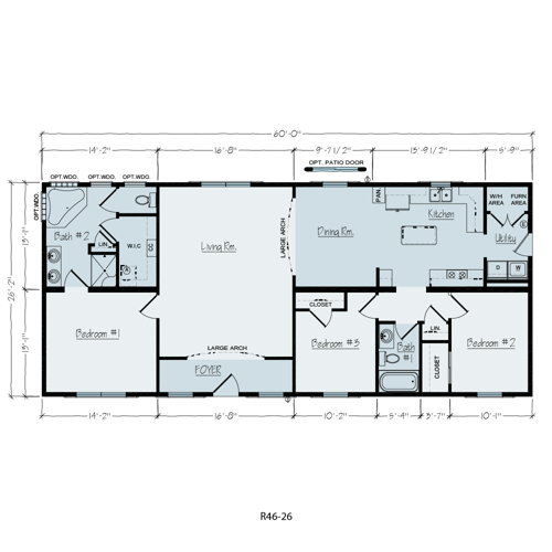Floorplan of Elkins