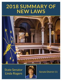 2018 Summary of New Laws - Sen. Rogers