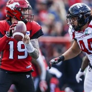 Image for Stampeders' Bo Levi Mitchell placed on 6-game injured list