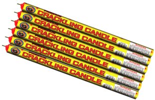 Image for Crackling Candle 10-Ball