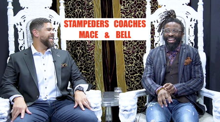Image for 3RD AND LONG with Calgary Stampeders Coaches Corey Mace and Josh Bell
