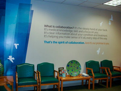 Waiting Room Wall Mural Graphics
