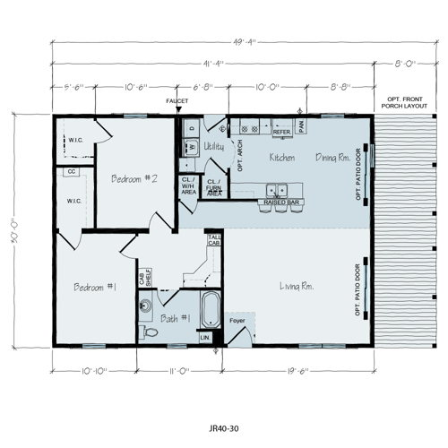 Floorplan of Kimberly