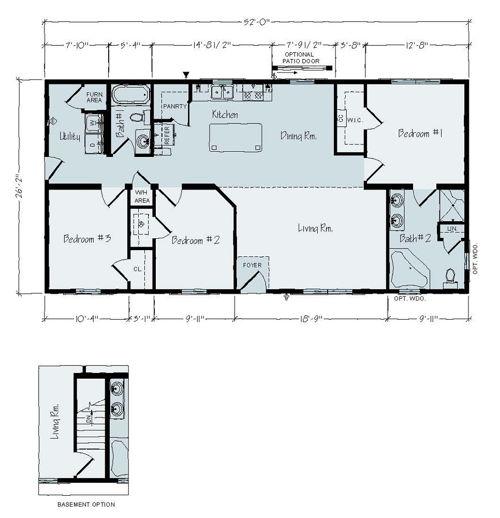 Floorplan of Brentwood