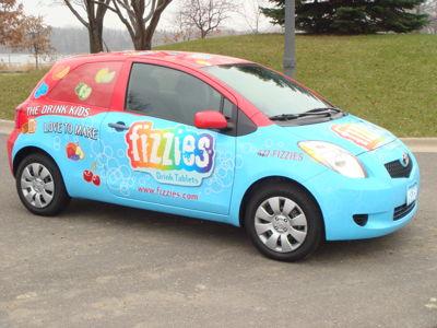 Fizzies Vehicle Graphics