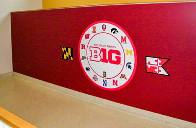 Big 10 Wall Decal