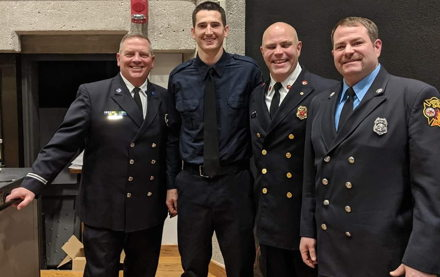 Image for Eta Phi Alumnus leads First Responders in Dearborn Heights