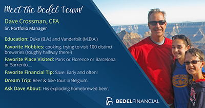 Meet David Crossman, CFA | Bedel Financial