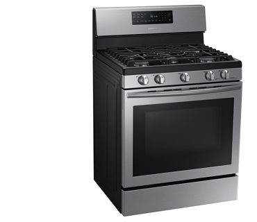 Samsung NX58H5600SS Stainless Gas Range