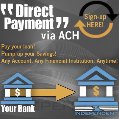 Direct Payment Via ACH