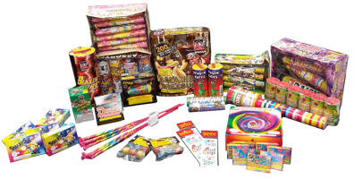Image of A Lotto Fireworks