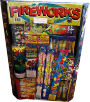 Image of #5 Tray Fireworks
