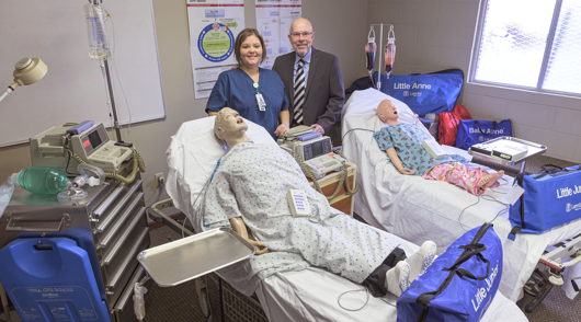 Parkview DeKalb Hospital donation benefits CPR training programs