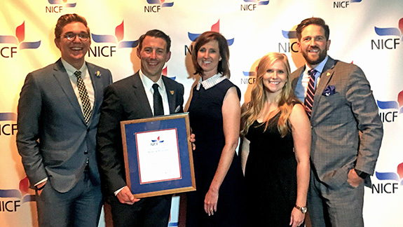 DUEF honored with Award of Distinction