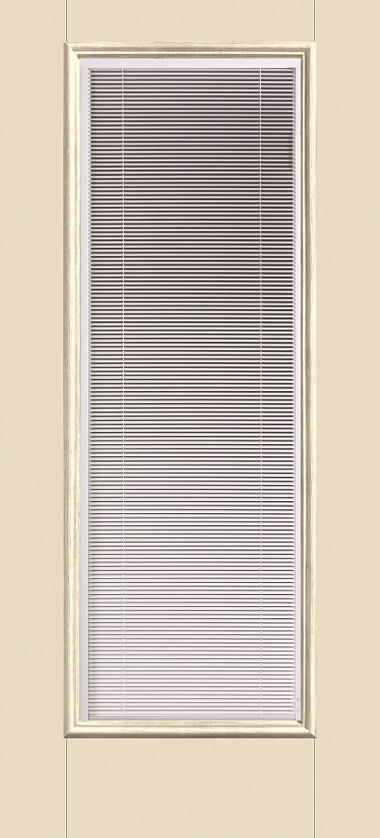 THERMA TRU FULL GLASS WITH BLINDS EXTERIOR DOOR