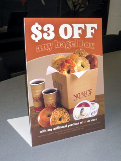 Noah's Promotional Table Stand