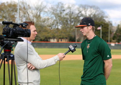 Sportscaster Finds His Calling