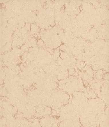 Optional Quartz Countertop - Coarse Marfil