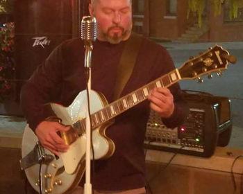 Doug Dillman at The Willard
