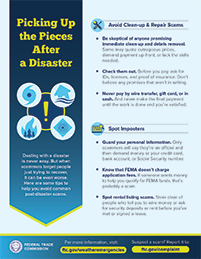 Picking Up the Pieces After a Disaster