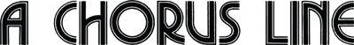 Logo for A Chorus Line
