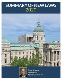 2020 Summary of New Laws - Sen. Merritt