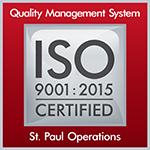 Logo for ISO 9001 : 2015 Certification