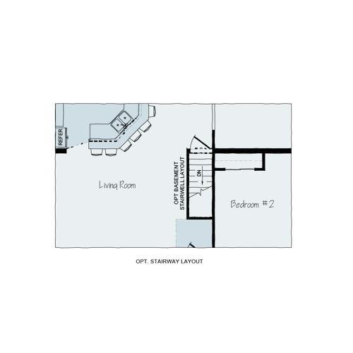 Floorplan of Allen Towne Series