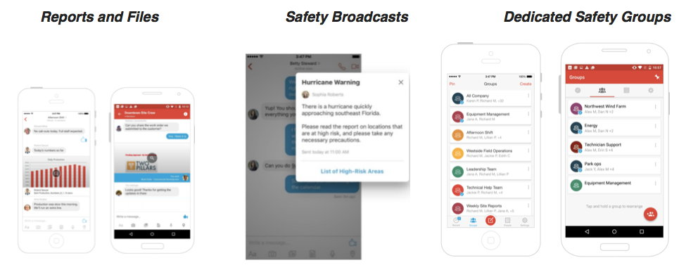 screen shots of safety software
