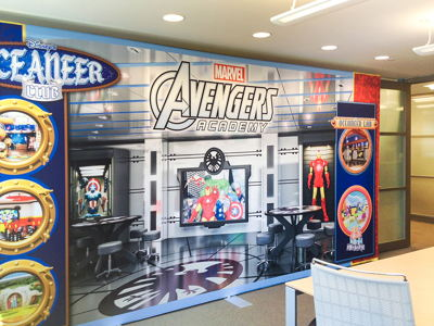 Avengers Promotional Graphic Wall