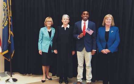 Image for 'Such a proud moment': New U.S. citizens take oath