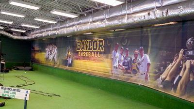 Baylor Baseball Barricade Banner