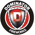 Logo for Dominator Fireworks Brand