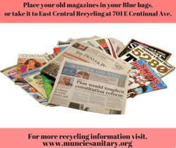 Question: Are Magazines Allowed to be Placed in Blue Bags?