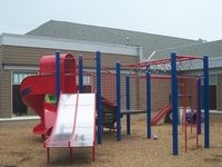 image of the playground at the shelter
