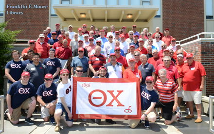 Image for Theta Chi brothers raise money for endowed scholarship